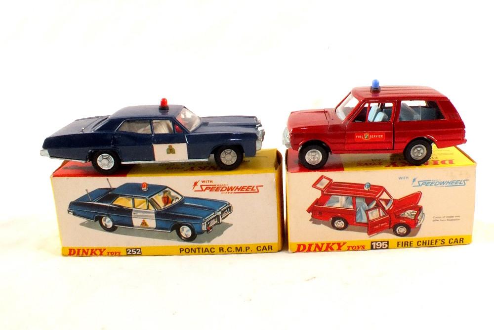 Dinky model cars
