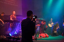 Musicians at Gate Church International, Sunday Service