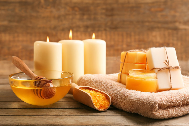 Honey and candles