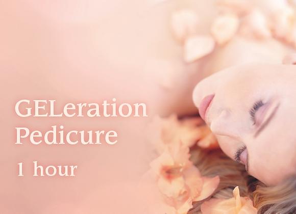 GELeration Pedicure - 60 minutes