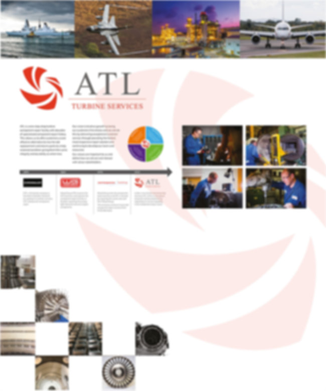 ATL Turbine Services interior information panel