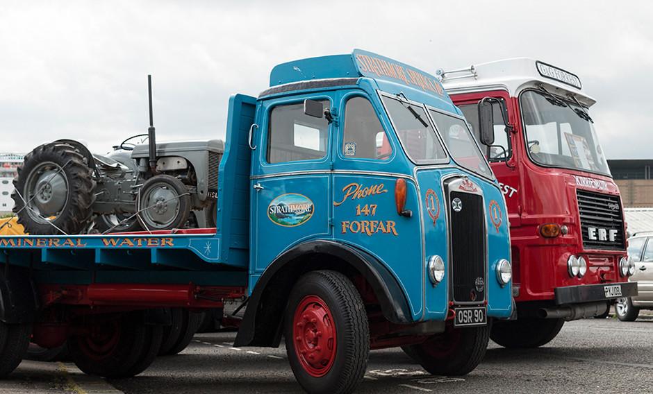 Strathmore Springs truck