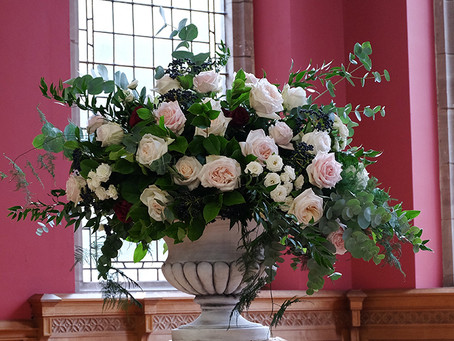Church flowers and large displays