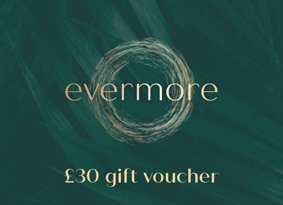 £30 gift voucher (e-voucher)