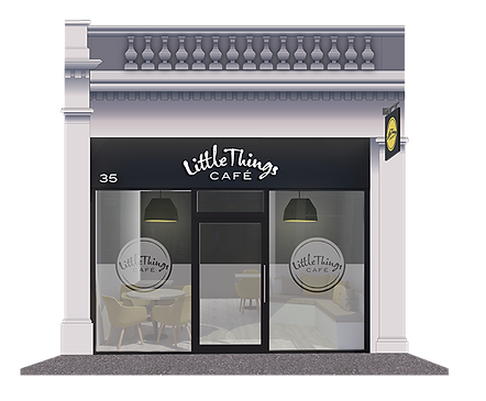 Little Things Cafe, 35 Reform Street Dundee