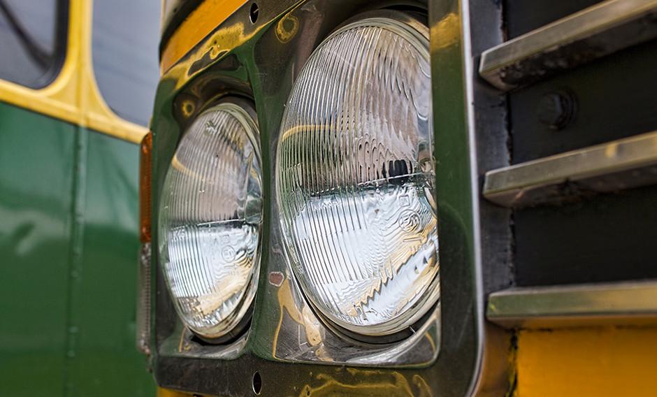 Bus headlights