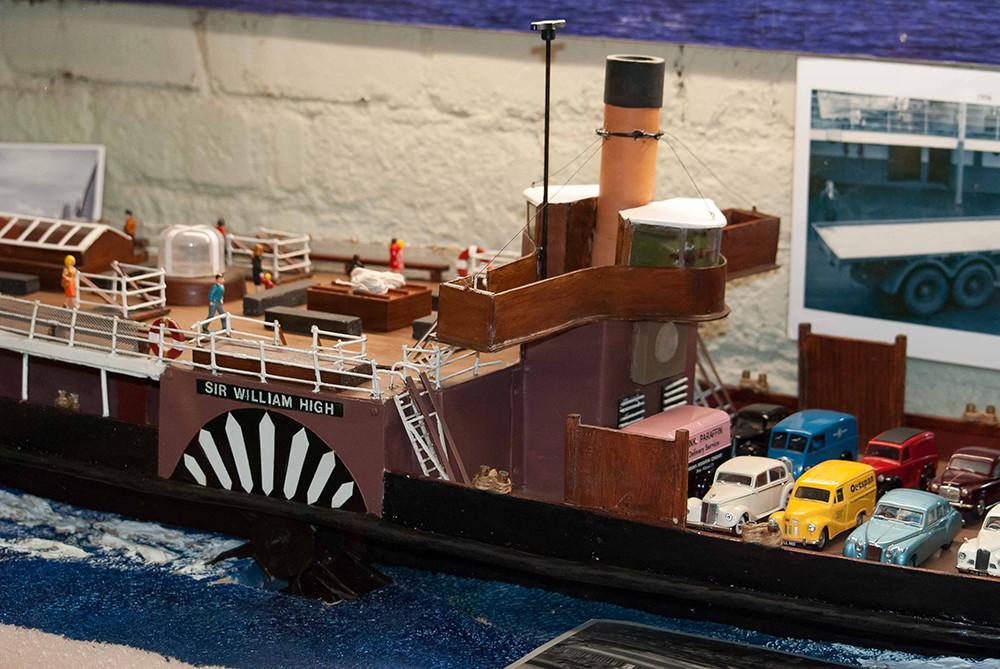 Sir William High model boat