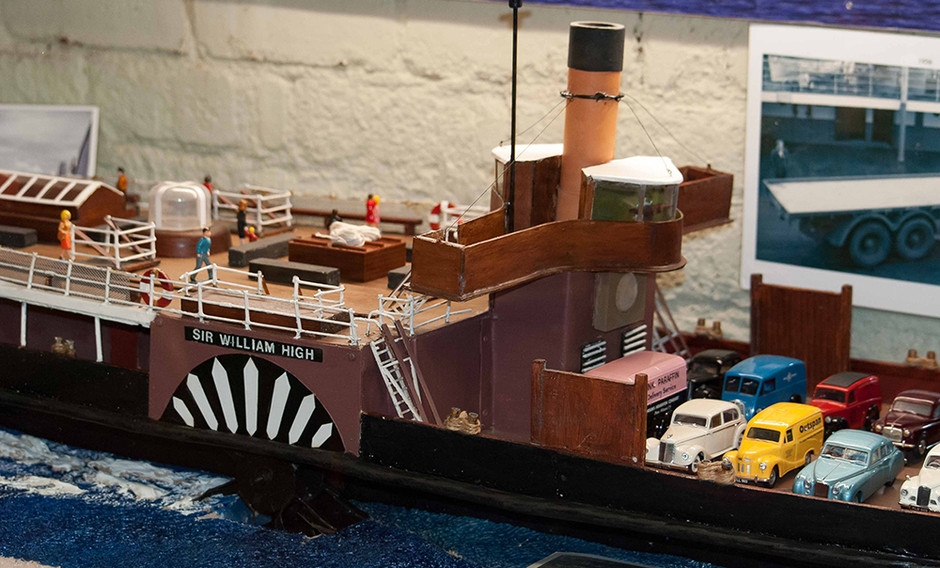 Sir William High model boat