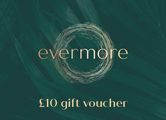 £10 gift voucher (e-voucher)