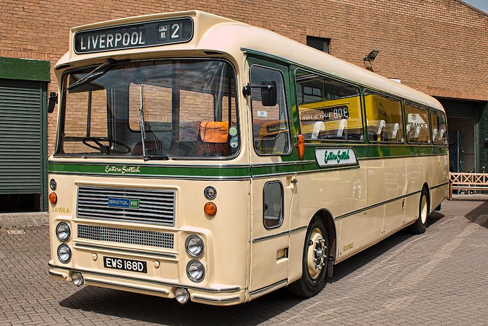 Eastern Scottish bus