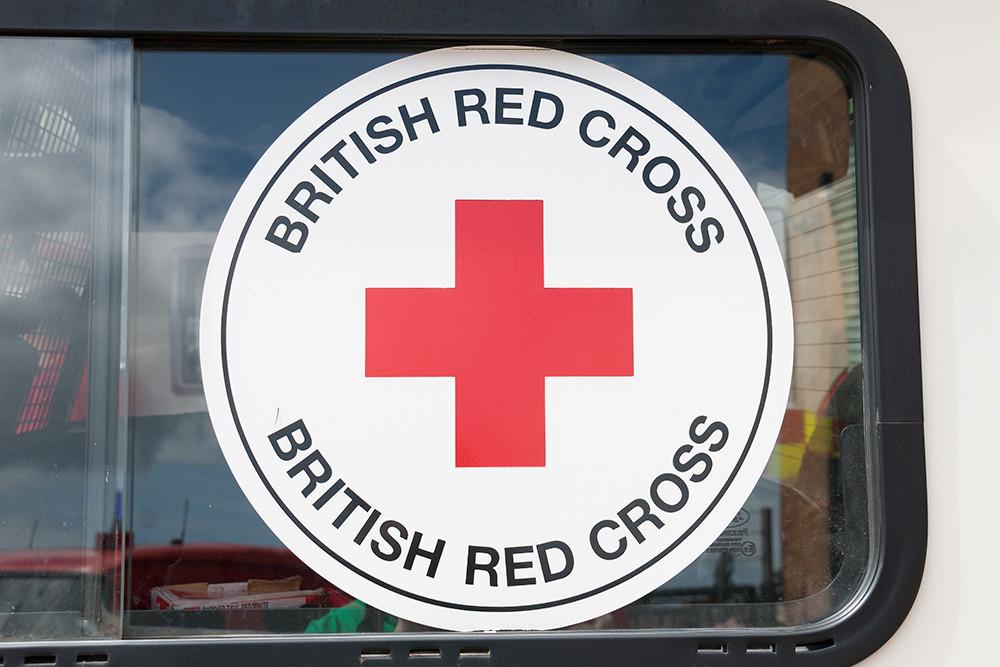 British Red Cross badge