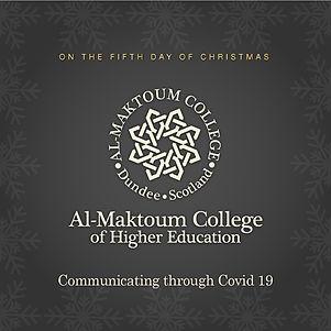 12 days of Christmas - Al-Maktoum College