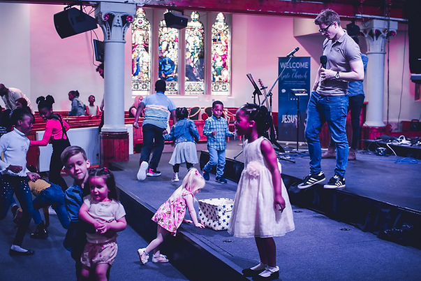 Childrens' church at Gate Church International, Dundee