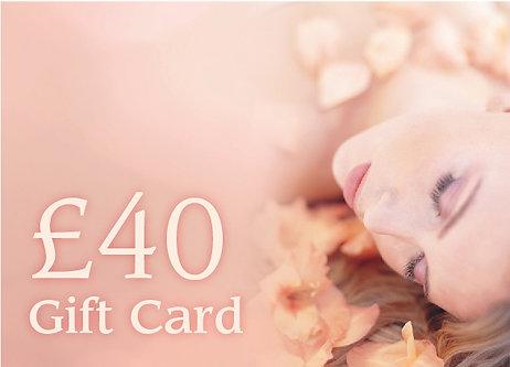 £40 Gift Card