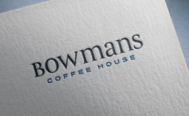 Bowmans Coffee House brand logo