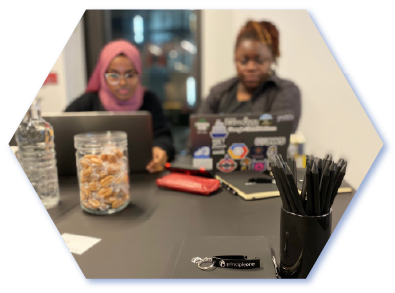 Coding Black Females workshop at Principle One