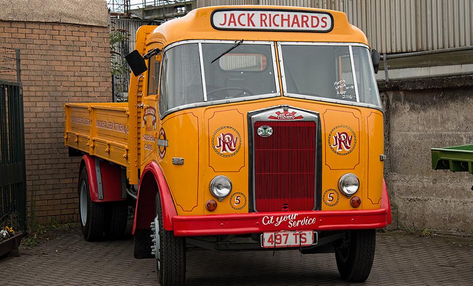 Jack Richards truck