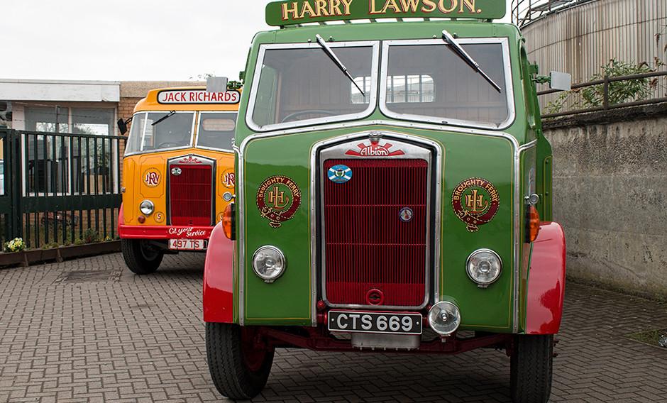 Harry Lawson truck