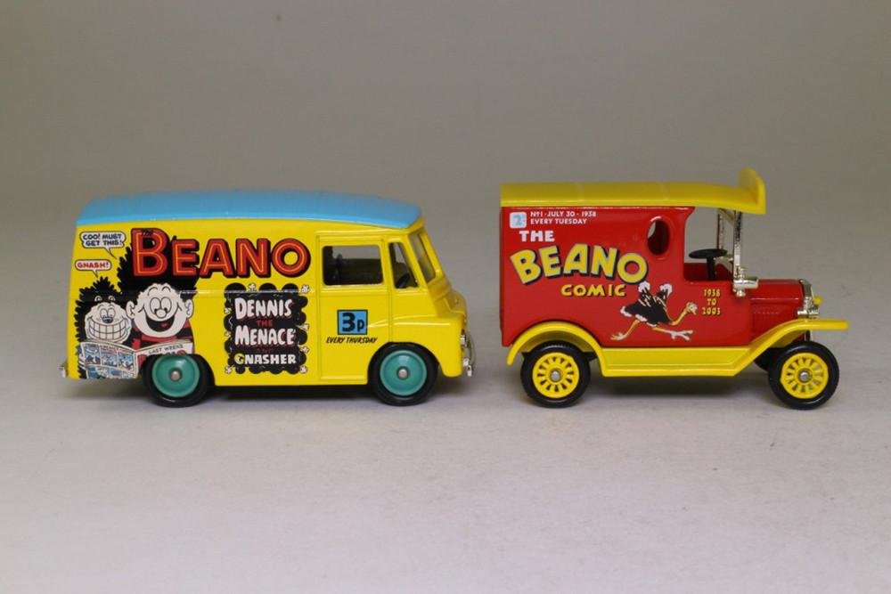 Beano model trucks