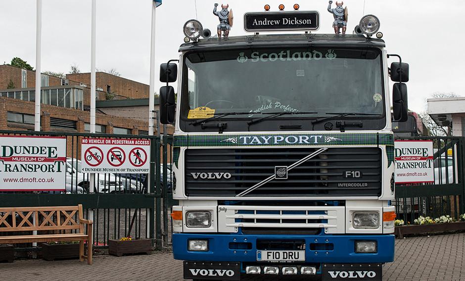 Tayport Volvo truck