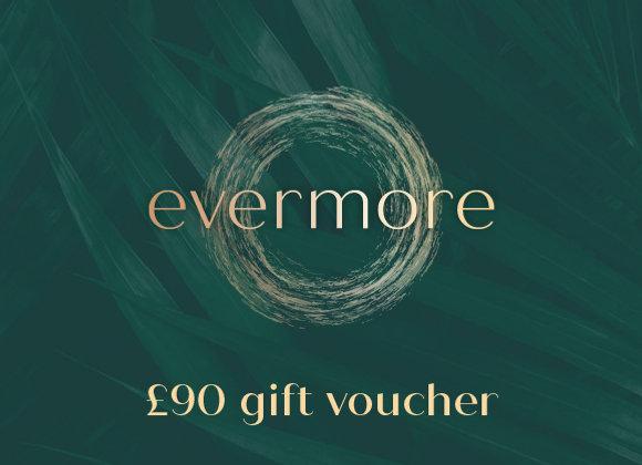 £90 gift voucher (e-voucher)