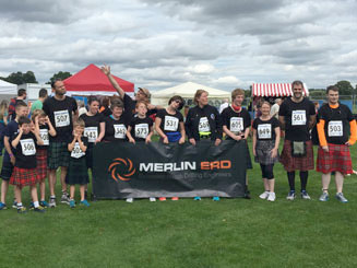 The Black Reiver team were invited by clients, Merlin ERD, to attend the  2015 Perth Touch of Tartan Kilt Run.