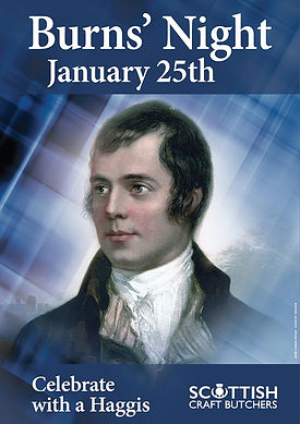 Burns Night poster
