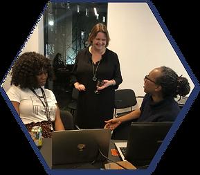 Coding Black Females workshop at Principle One