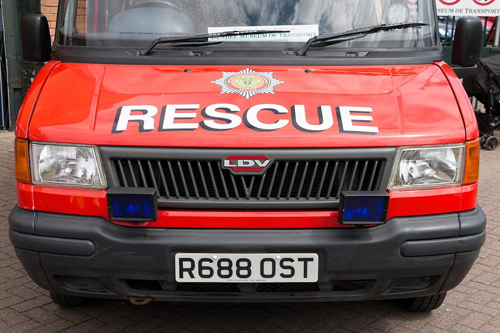 Rescue truck bonnet