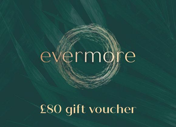 £80 gift voucher (e-voucher)