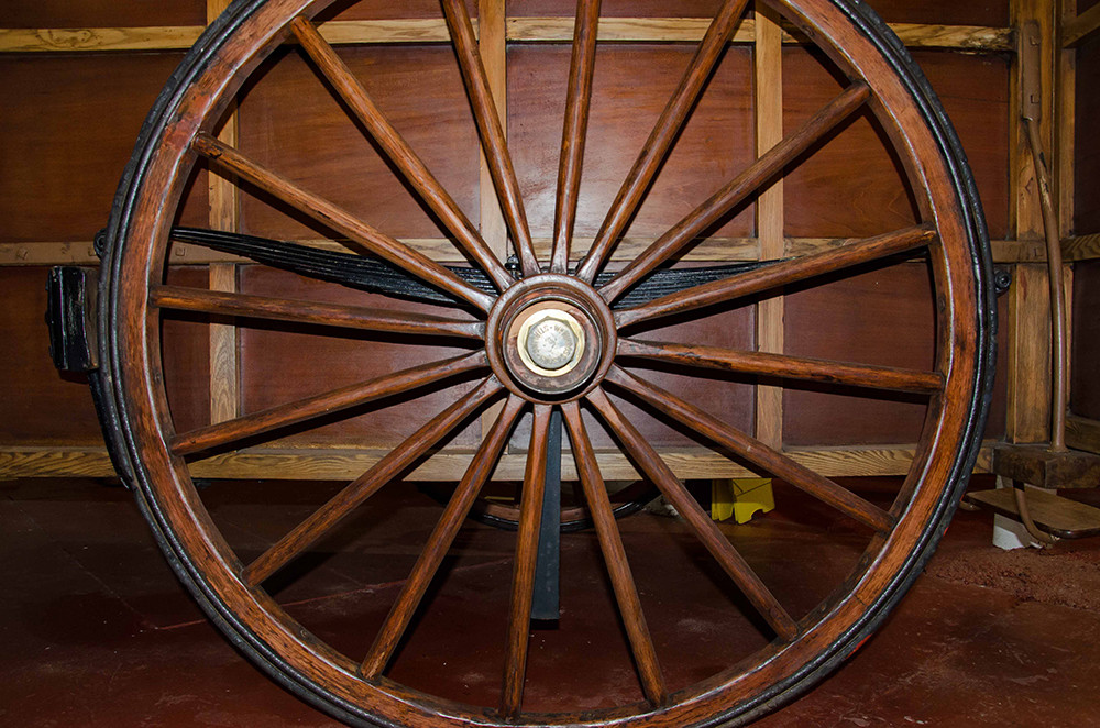 Wooden carraige