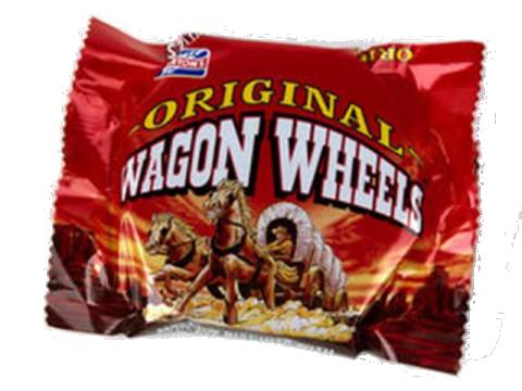 Wagon Wheels biscuit