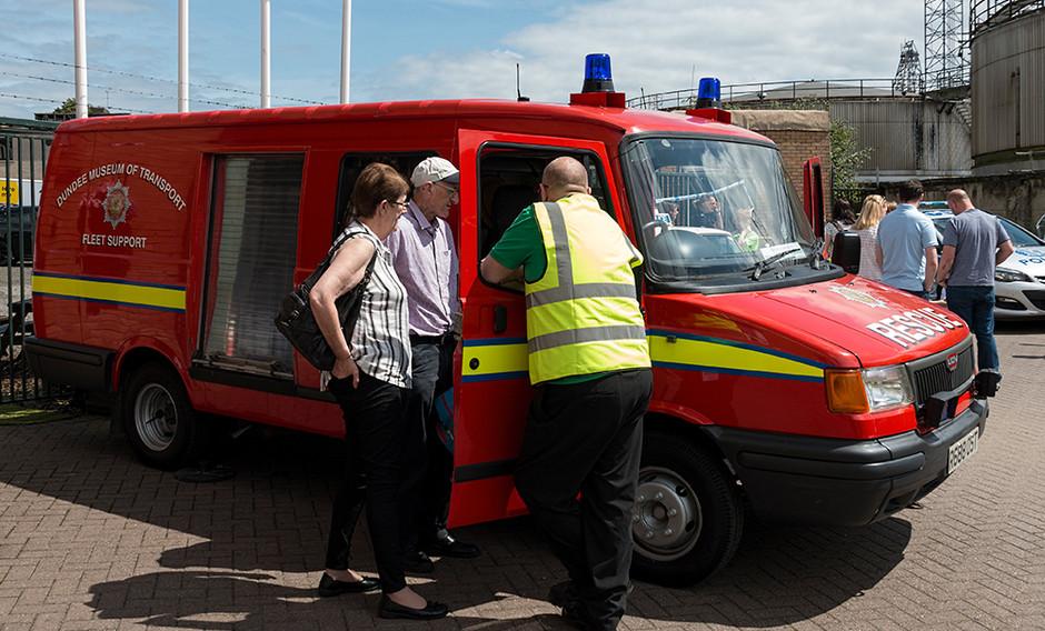 DMofT Rescue van