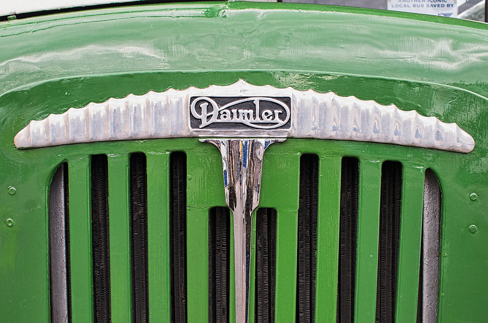 Daimler badge