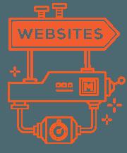 Icon representing websites