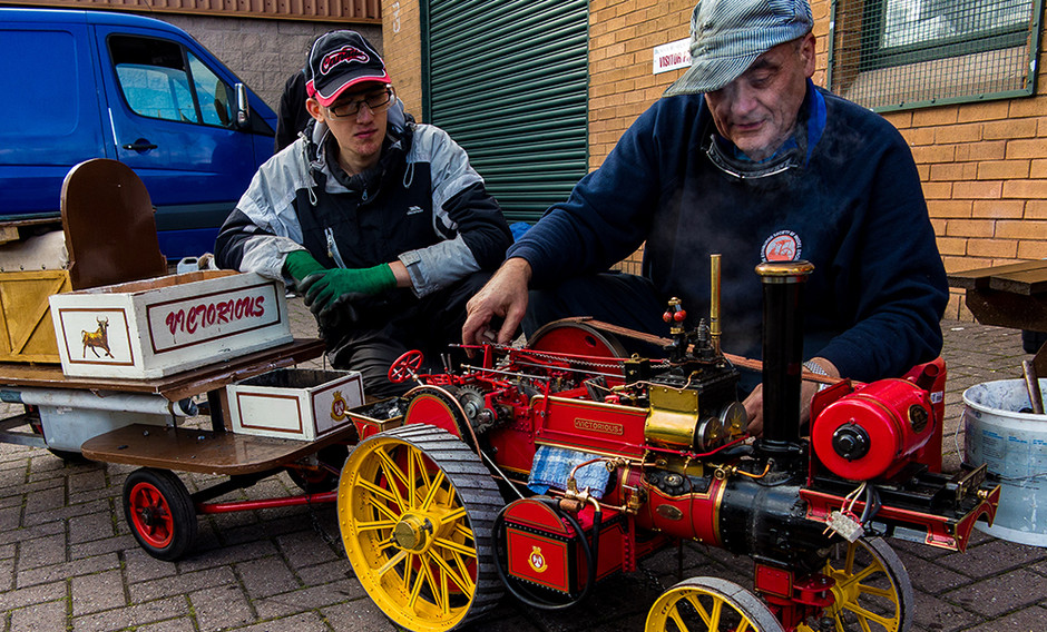 Model & Steam Weekend at Dundee Museum of Trasport