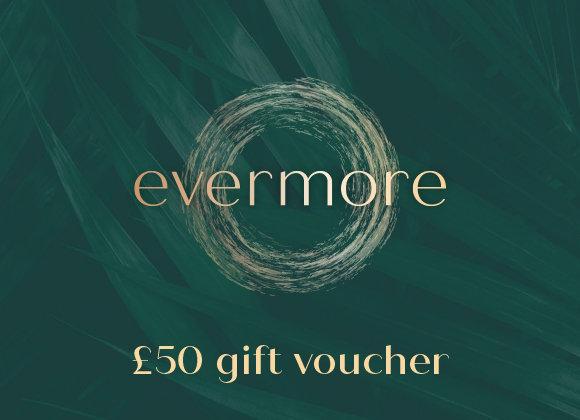 £50 gift voucher (e-voucher)