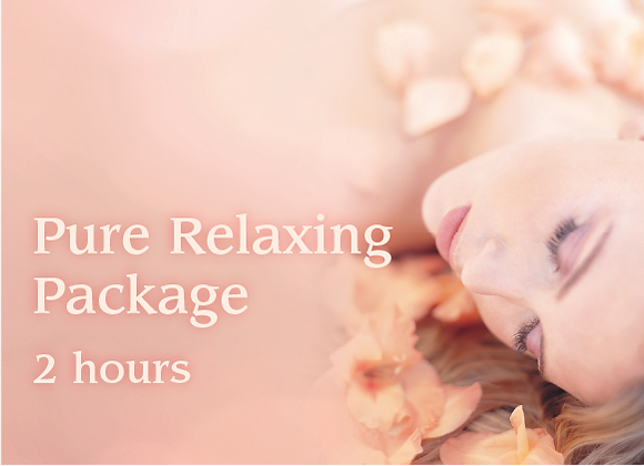 Pure Relaxing Package - 2 hours