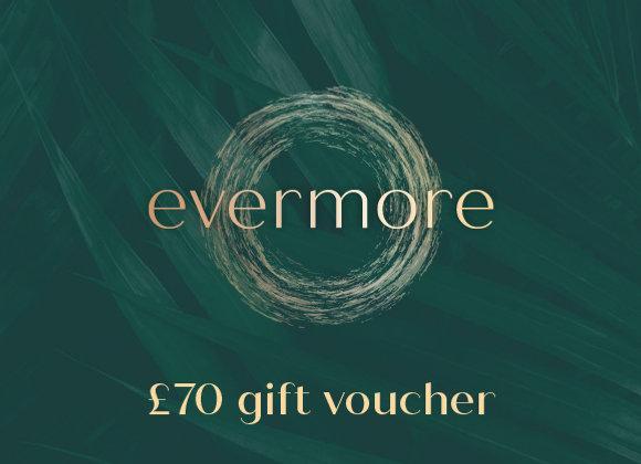 £70 gift voucher (e-voucher)