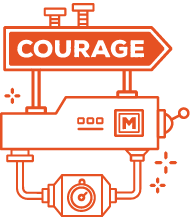Courage value