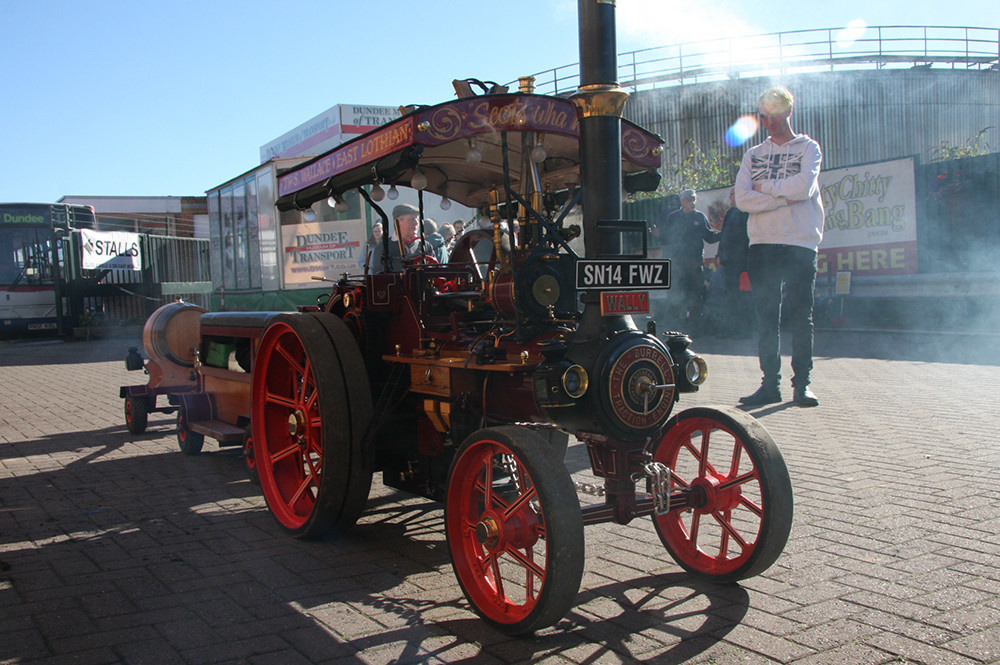 Model steam engine at Dundee Museum of Transport