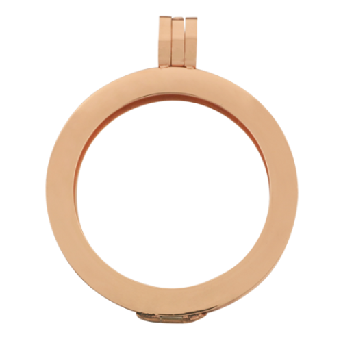 Smooth Rose Gold Pendant