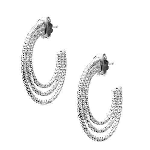 Earring, Sterling Silver