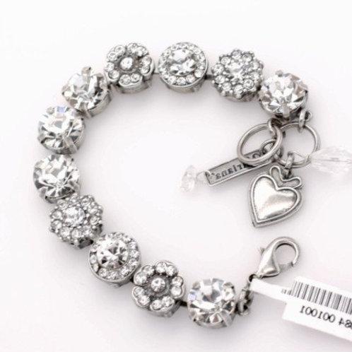 Clear Day Large Crystal Bracelet
