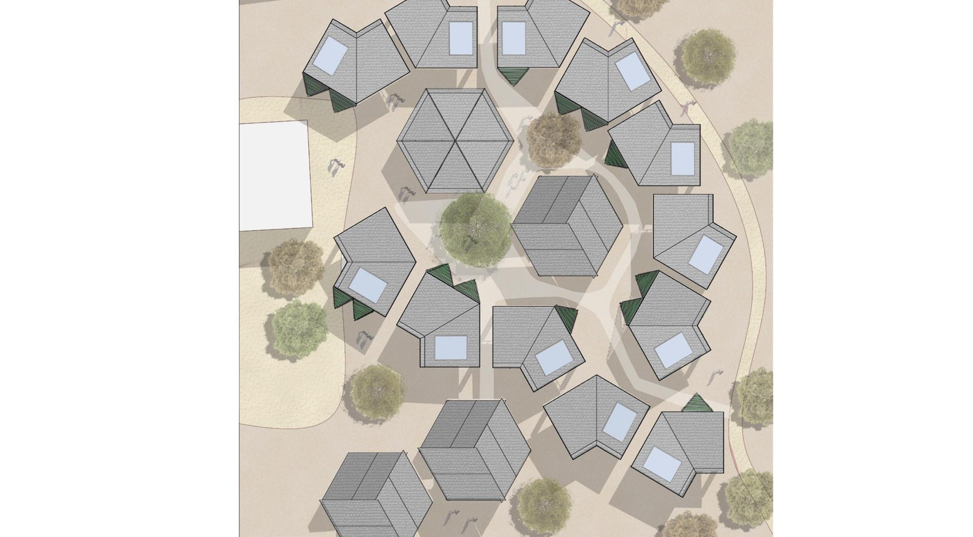 new settlement roof