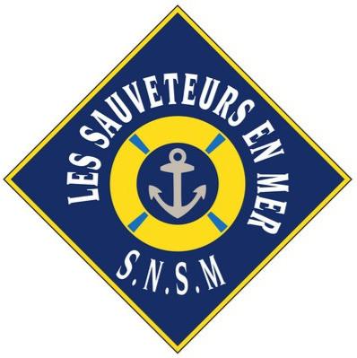 Logo SNSM société sauvetage en mer bateau