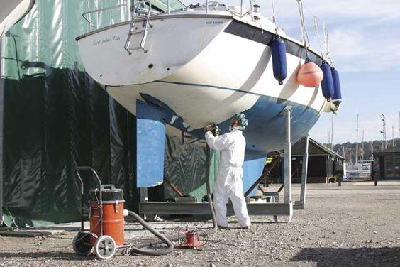 Antifouling osmose bateau