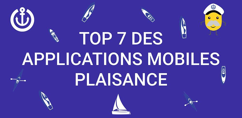 article sur les meilleures applications plaisance ou pour les propriétaires de bateaux