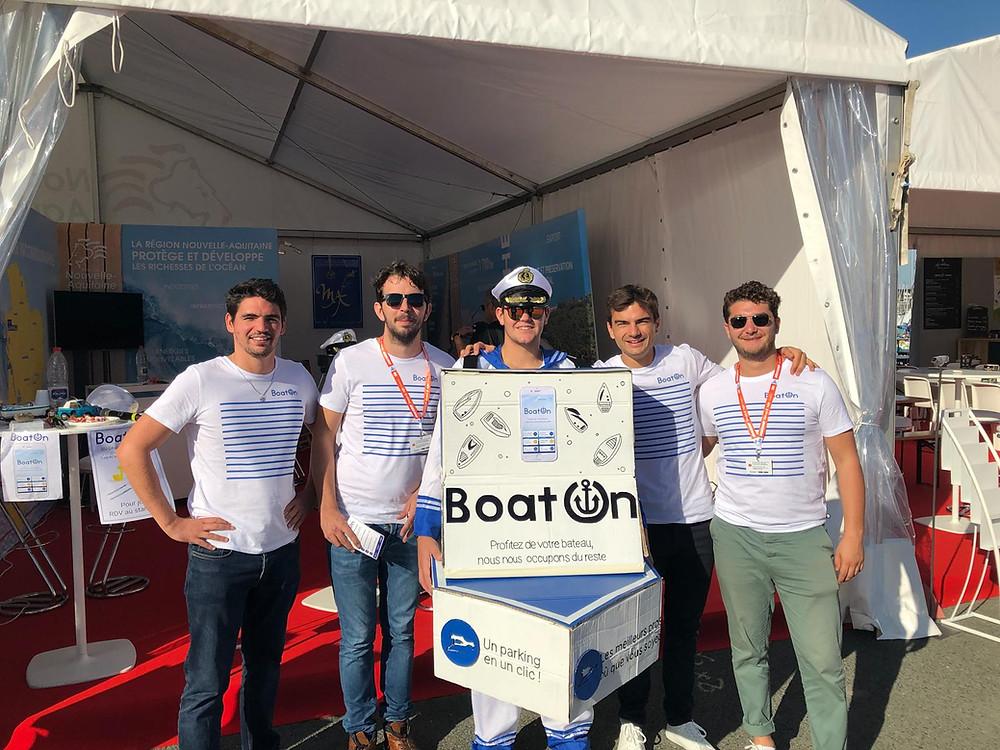 BoatOn au Salon nautique Grand Pavois La Rochelle