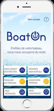 Application mobile gratuiteBoatOn Pro